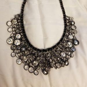 Chico's crystal bib necklace
